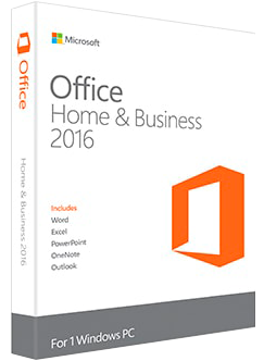 Microsoft Office Home and Business 2016 купить