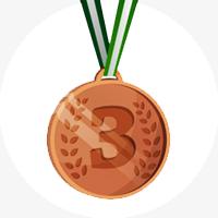 Третье место